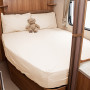 Nearside caravan fitted sheet