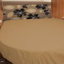 Caravan fitted sheet for Island bed.