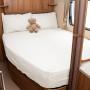 Caravan fitted sheet